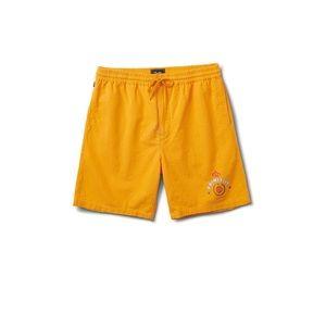 New! Primitive Acapulco Shorts Large Orange